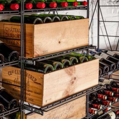L'Atelier du Vin, Auszug für Flaschen und Weinkisten, 60 cm Breite