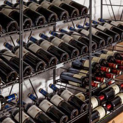 L'Atelier du Vin,  schräge Flaschenhalterung zur Präsentation, wahlweise 2 Breiten