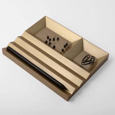 VAU, Modell '12.3 Organiser', Büroset, gold matt