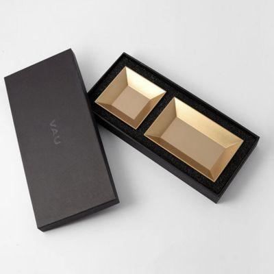 VAU, Modell '12 Organiser', 2 Ablageboxen, gold matt