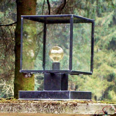 Authentage, Lampenserie 'Vitrine', Standleuchte 'Pillar Lantern', verschiedene Ausführungen